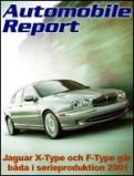 Jaguar X-Type och F-Type
