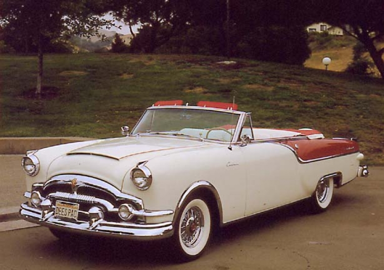 Packard Caribbean var tänkt att bli en lyxsportvagn
