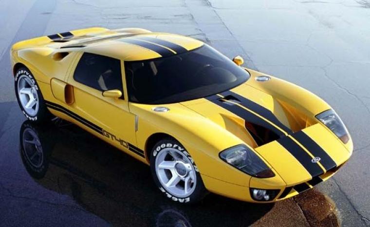 Legenden Ford GT40 åter i serieproduktion!