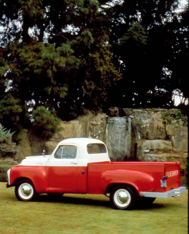 1955 Studebaker med rötter i guldrushen