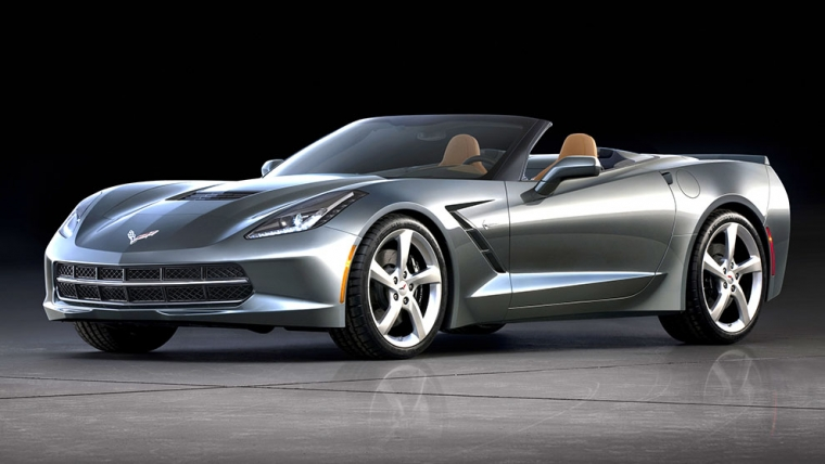 CORVETTE STINGRAY ÄVEN SOM CONVERTIBLE