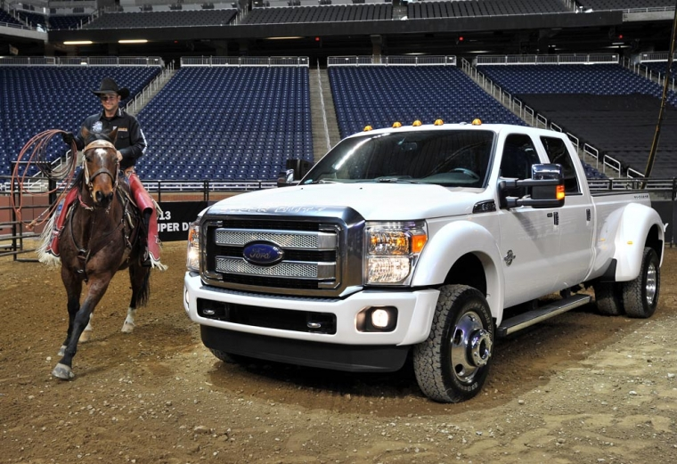 2013 Ford F-Series Super Duty är dagens melodi!