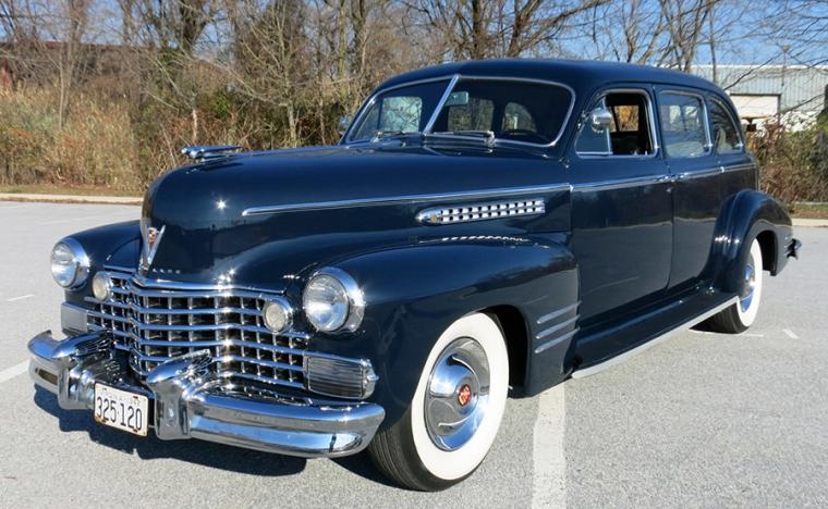 Underbart att se en riktig Cadillac!