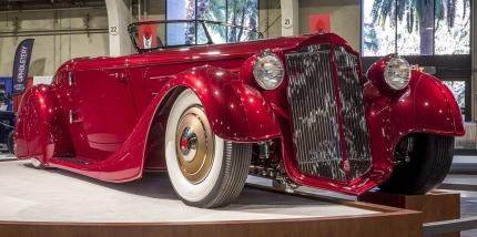 ´36 Packard Mulholland Speedster är Amerikas absolut vackraste Roadster 2017