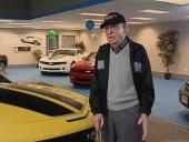 Virgil Coffman, 101 år, är den äldste kände bilköparen till 2010 Camaro