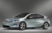 Tuff, mycket aggressiv design kännetecknar Chevrolet Volt. Notera det korta bakre överhänget och hur formgivarna ansträngt sig att skapa så breda dörröppningar som möjligt.