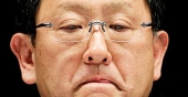 Toyota´s styrelseordförande Akio Toyoda är bekymrad.