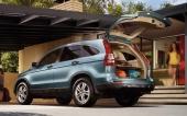 En annan livsfarlig liten knatte är Honda CR-V.