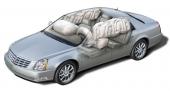 DTS har ett utökat system med airbags som numera täcker in hela passagerarutrymmet inklusive sidofönstren.