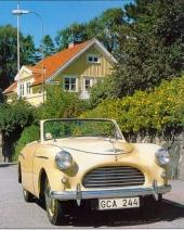 Som en miniatyr av en amerikansk convertible från tidigt 50-tal! Austin A40 Sports var verkligen en djärv satsning.