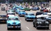 CUBA — Nu mer än någonsin uppvisas ett underbart frosseri i bilnostalgi!