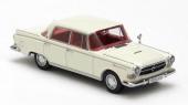 Den benvita versionen av Borgward P100 är helt nyutkommen och finns nu hos välsorterade modellbilshandlare.