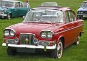 1963 Humber Sceptre Mk I väckte stor uppmärksamhet för sin djärva design.