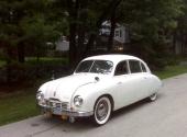 1951 Tatra T 600 Tatraplan i ett absolut fantastiskt skett.