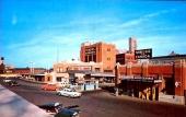 Infarten till tunneln i Detroit i slutet på 50-talet. Bilden måste ha tagit under lågtrafik.
