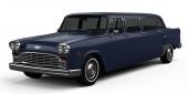 I slutet av 2018 börjar produktionen av nya Checker! Här ses en 6dr Hotel Limousine.