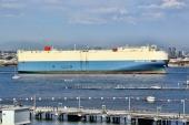 RoRo-fartyg tillämpas i allt större omfattning även skeppning av stora mängder nya bilar.