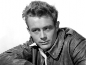 En klassisk idolbild på James Dean.
