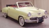 1948 Studebaker Champion Regal DeLuxe Convertible. En liten nätt vagn.