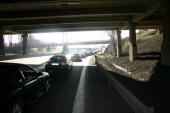 Ändlösa bilköer är tyvärr normalt till alla arrangemang av detta slag.