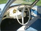 1957 års nya design av instrumentpanelen var djärv och futuristisk.