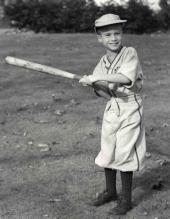 Mitt Romney som glad 6-åring 1953.
