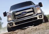 Fronten på Ford F-Series Super Duty.