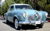 1951 Studebaker Champion Custom 2dr Sedan. Det andra och sista året med den kontroversiella fronten.
