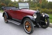 1921 Nash Big Six Model 681 Touring.