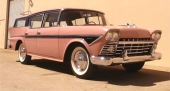 1958 Rambler Custom Cross Country Station Wagon.