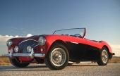 Austin-Healey 100 i sitt ursprungliga utförande.