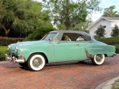 1952 Studebaker Champion Regal Convertible.
