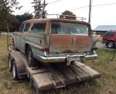 Även bakpartiet är i behov av en omfattande renoverog på denna 1959 Rambler.
