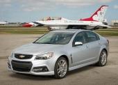 Naturligtvis hoppas man att Chevrolet SS skall bli en farlig fighter! Här i gott sällskap.