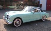 Ännu en 1952 Nash Healey Coupe i vackra vårfärger.
