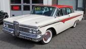 Begagnad 1959 Edsel i snyggt originalutförande.