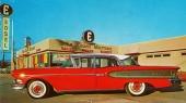 Åtskilliga återförsäljare hade Edsel som enda bilmärke! Man påpekar att 1959 kommer snart. Köp en 58:a till reducerat pris.