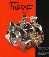 Den 2-cylindriga, luftkylda boxermotorn, här i Tigre-version med några hästkrafter mer.