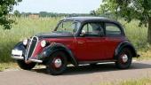 Nya 1937 DKW Sonderklasse med 4-cylindrig motor och bakhjulsdrift.