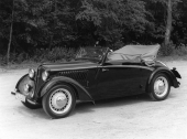 En 1939 DKW F8 Cabriolet. © Copyright WORLD MOTOR PRESS arkiv.