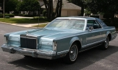 1978 Lincoln Continental Mark V Golden Jubilee Edition.