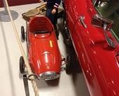 En italiensk trampbil från tillverkaren Giordani. En av de mest åtråvärda trampbilarna på 50- och 60-talet. Den här versionen tillhörde de mest exklusiva från tillverkaren och var en riktig dyrgrip redan som ny!