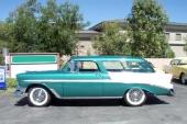 1956 Bel Air Nomad känns lätt igen på karosserisidan färgfält.