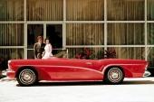 Vilka tjusiga, harmoniska linjer på 1955 Buick Wildcat.