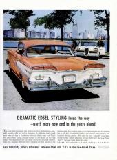 Aktern var en fullträff. På 1959 hade det räckt att göra baklamporna lite större!