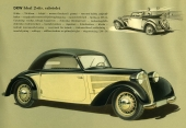 Bild ur den svenska originalbroschyren över 1939 års DKW. © Copyright WORLD MOTOR PRESS arkiv.