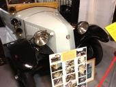 Tatra kommer från Tjeckoslovakien. På muséet finns två exemplar. Denna 1926 Tatra T 12 är den äldsta.