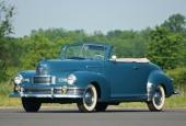 En ljuvlig 1948 Nash Ambassador Custom Convertible.