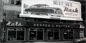 För alla återförsäljarna för Nash var 1949 års modell en sensation! Nybilsförsäljningen i USA var mycket lukrativ. Här är det Pepper & Potter som slår på stort!
