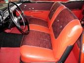 Härligt inbjudande interiör för att vara en bruksbil, även om Chevrolet hörde till statusmärkena i Sverige.
